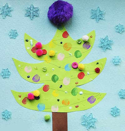 Новогодняя поделка для детей