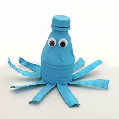 pb5 Новогодние игрушки из пластиковых бутылок (фото, мастер-классы)