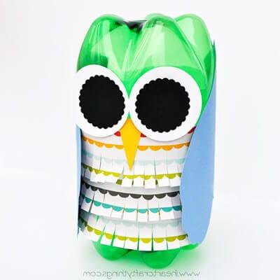 pb8 Новогодние игрушки из пластиковых бутылок (фото, мастер-классы)