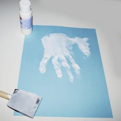 Отпечаток ладошки