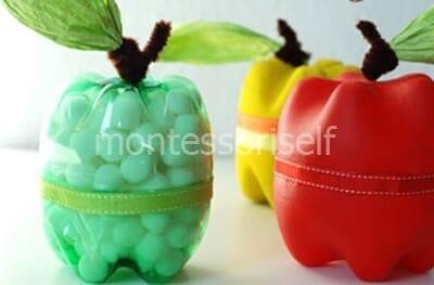 plast1-2 Новогодние игрушки из пластиковых бутылок (фото, мастер-классы)