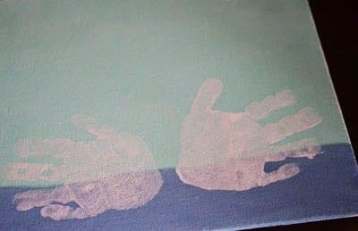 Отпечатки ладошек