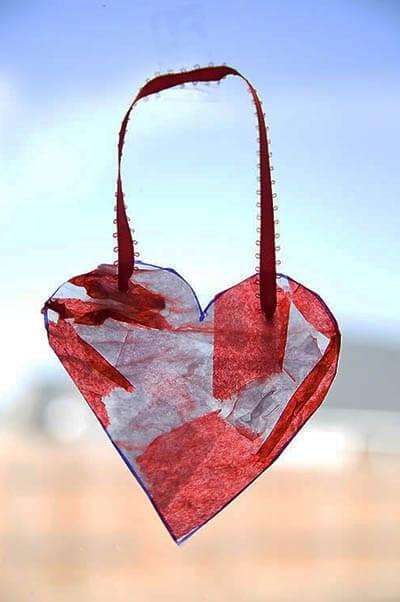 Украшение ко Дню святого Валентина