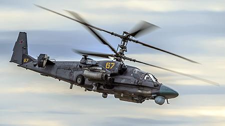 Боевой ударный вертолет Ка-52