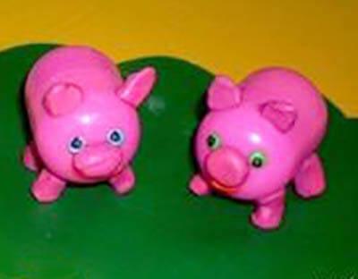 Свинки из киндера