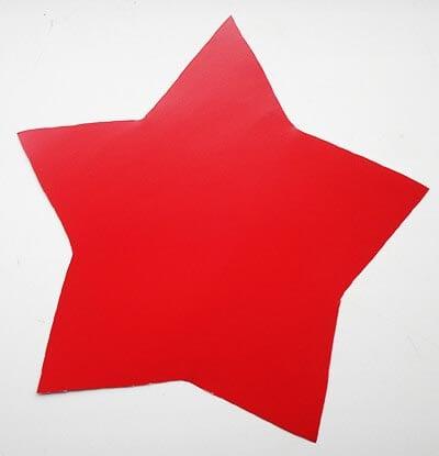 Вырезаем звезду
