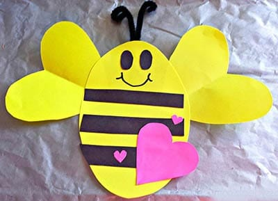 Пчелка на день Влюбленных