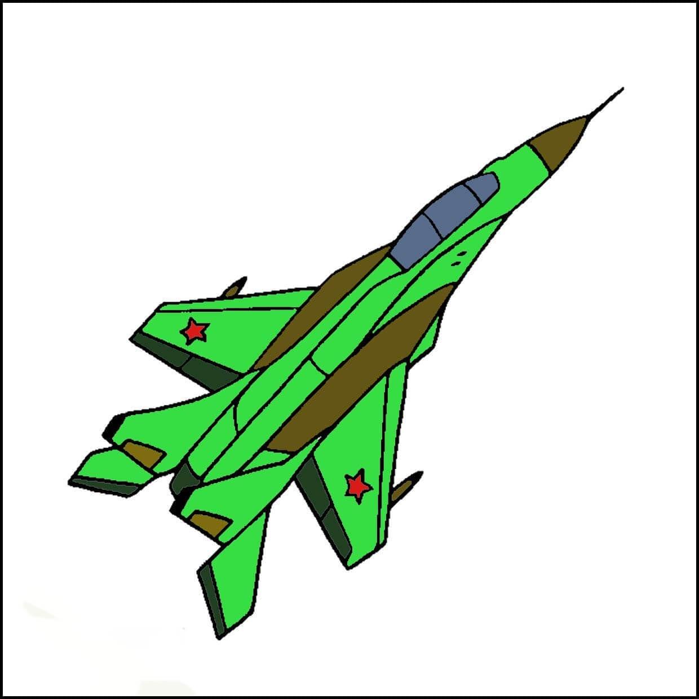 Картинка военный самолет