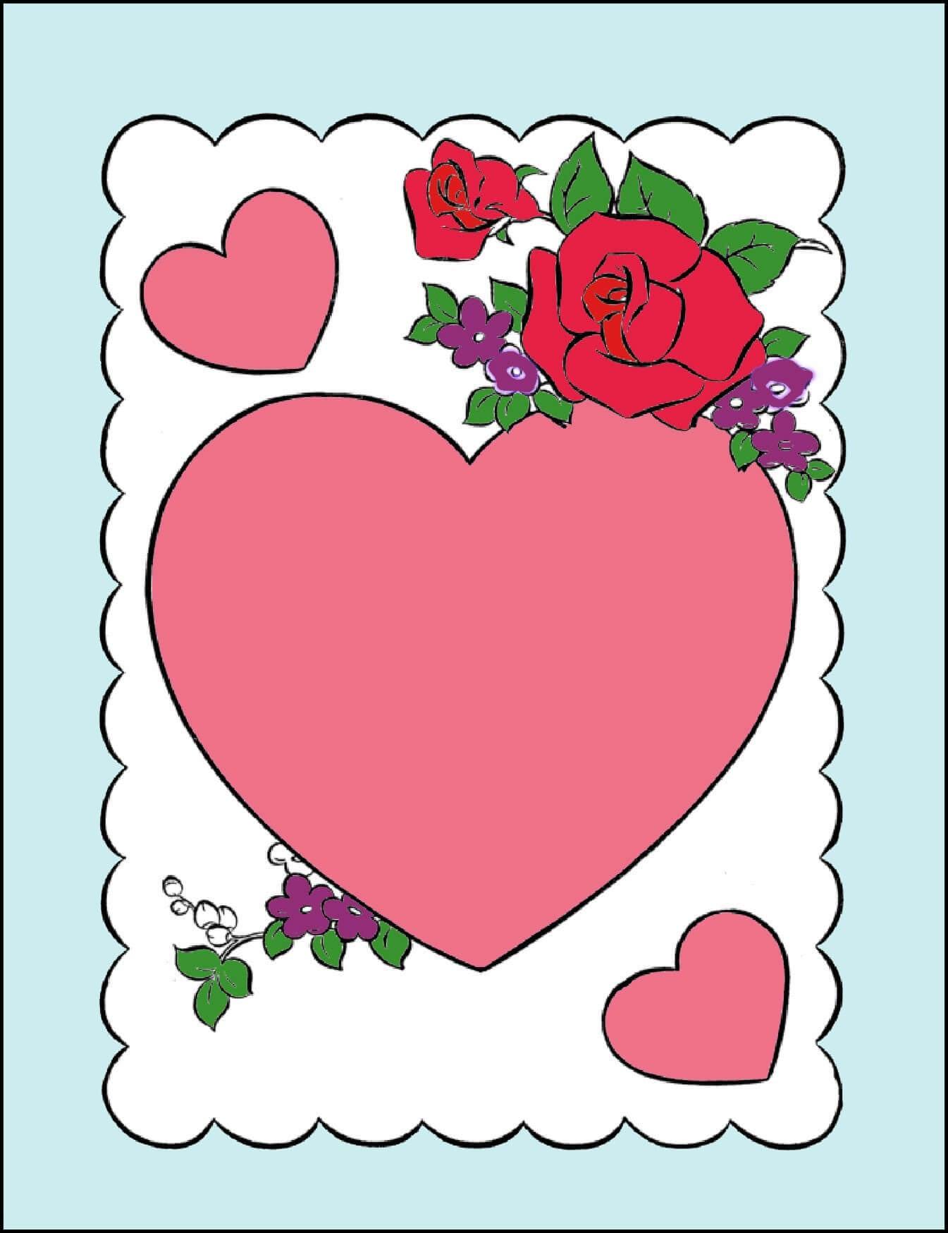 Кофе постель, открытка валентинка распечатать