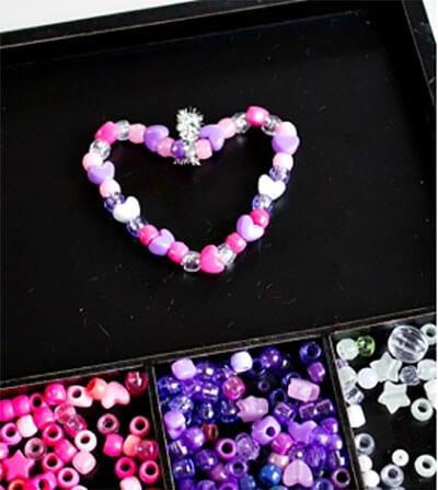 Heart of beads