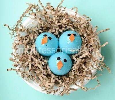 Птенцы из яичек от киндер сюрприза