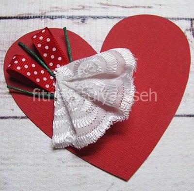 Другое бумажное сердечко
