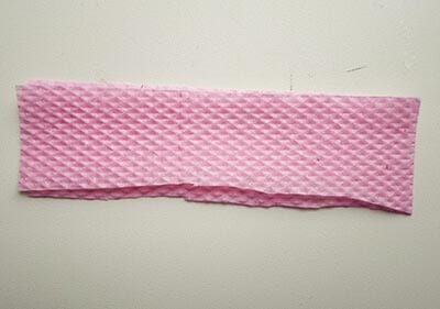 Розовая салфетка