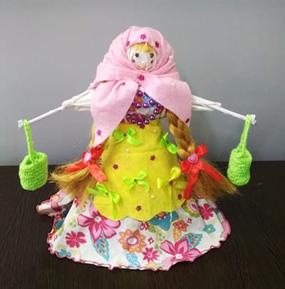 Кукла-масленица на конкурс