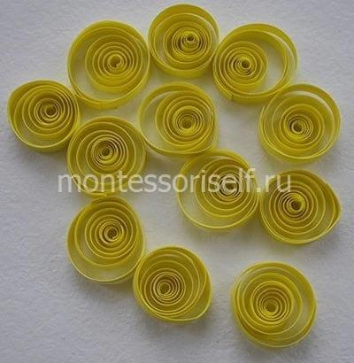 Желтые роллы
