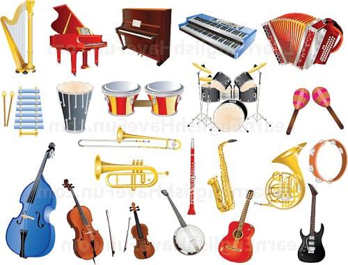 Музыкальные инструменты 1