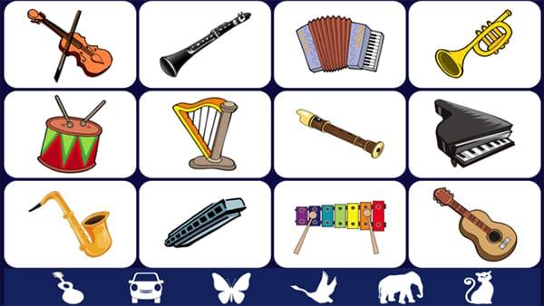 Музыкальные инструменты 3