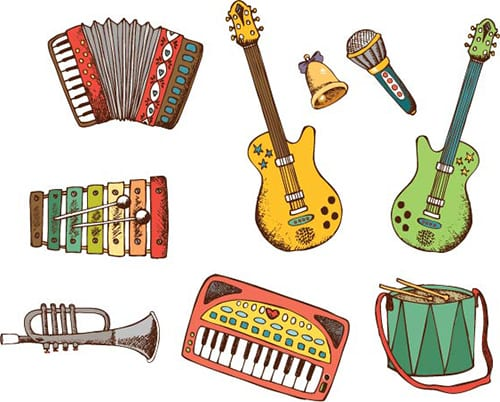 Музыкальные инструменты 2