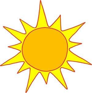 Картинка солнце 4
