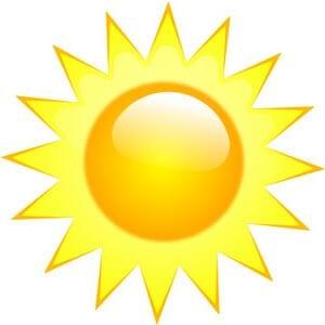 Картинка солнце 3