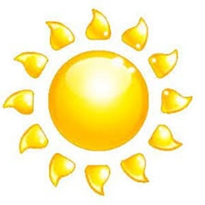 Картинка солнце 2