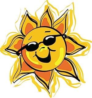 Картинка солнышко в очках 4