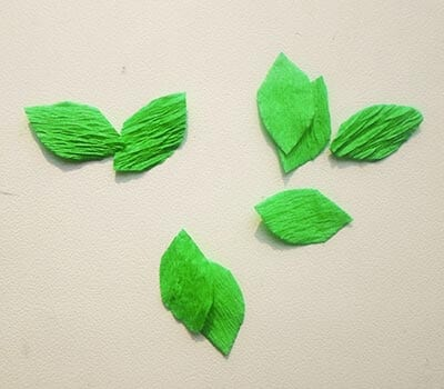 Нарезаем листочки