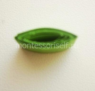 Зеленый листик