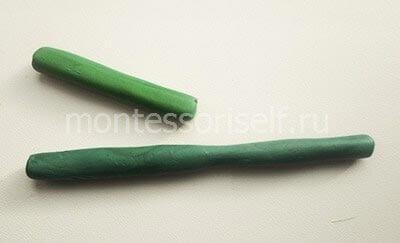 Длинная и короткая трубочка