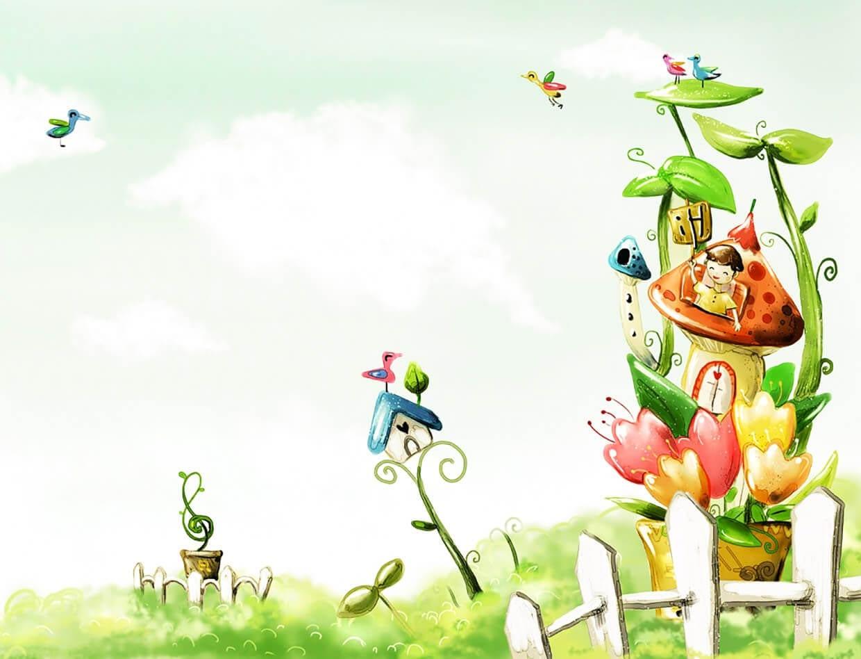 Весна картинка для детей 1
