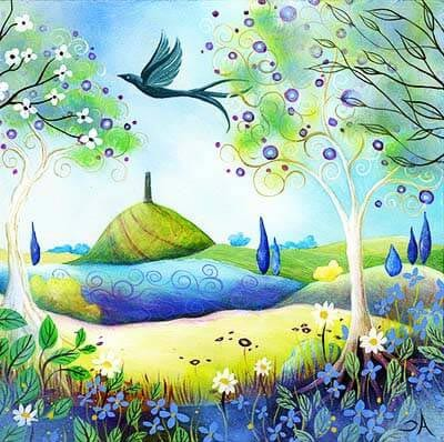 Синяя поляна