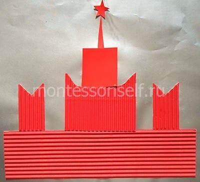 Спасская башня со звездой