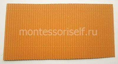 Коричневый гофрированный картон
