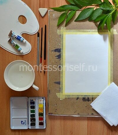 Материалы для рисунка