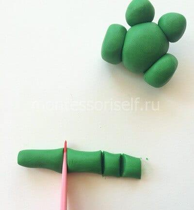 Разрезаем палочку