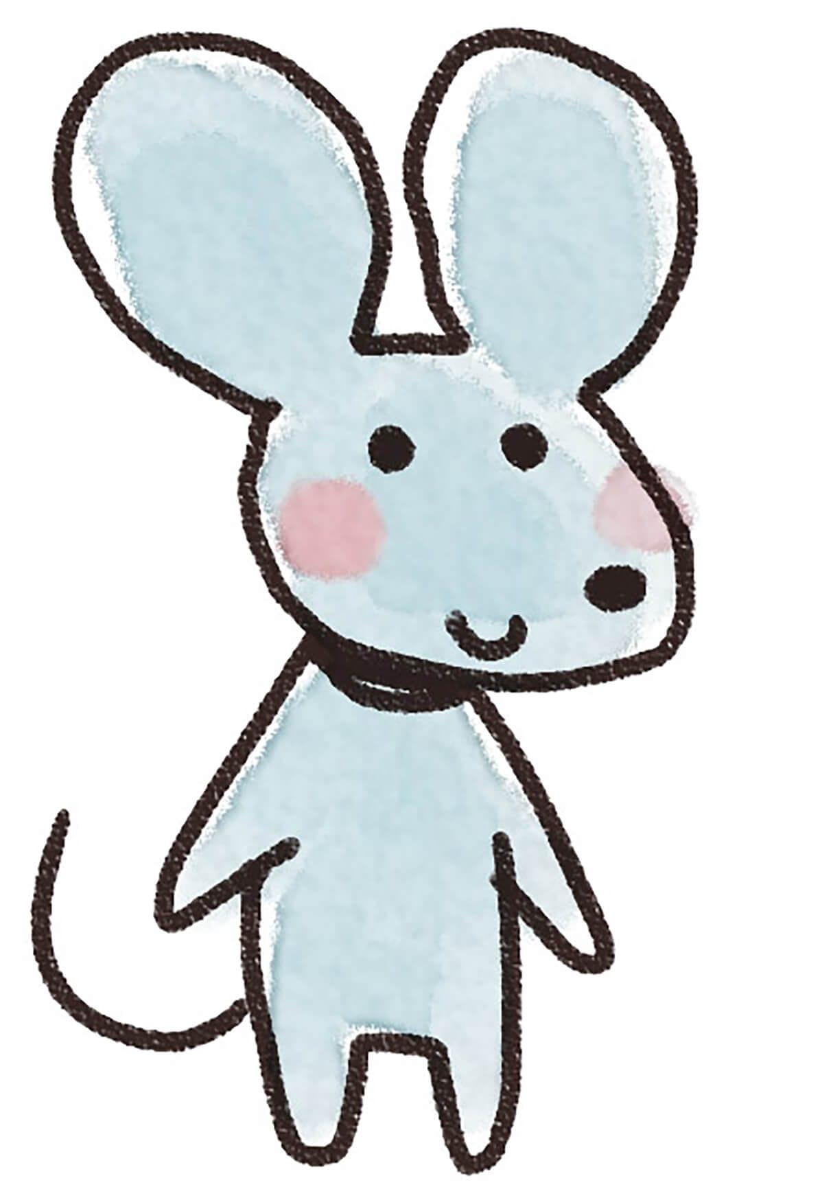 Мышка картинка для детей 6