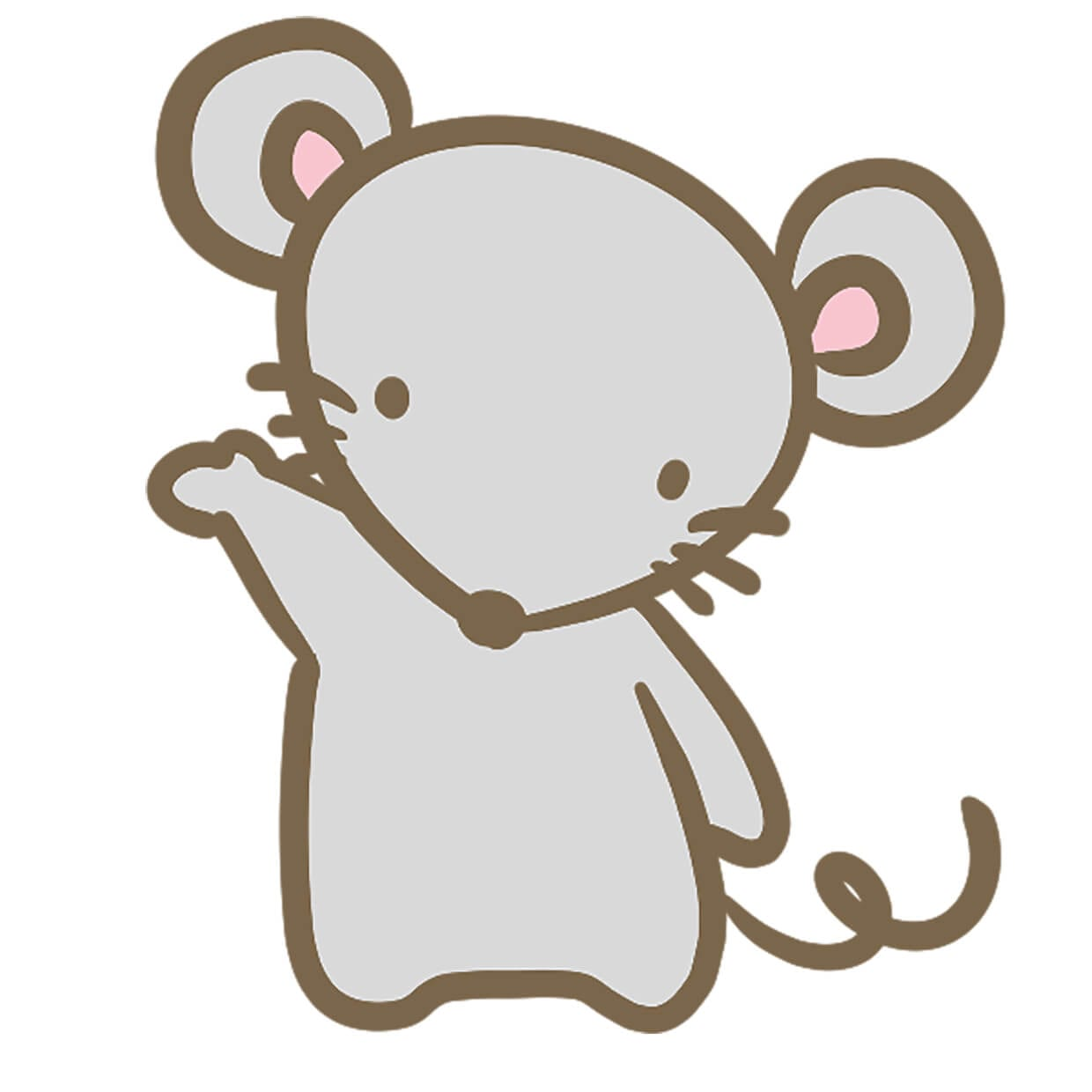 Mouse picture for kids 4