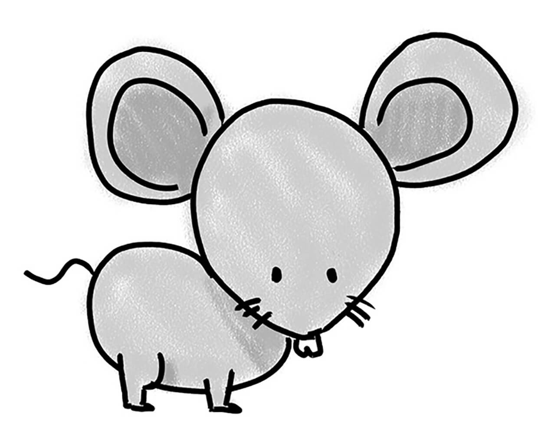 Рисунок мышка 1