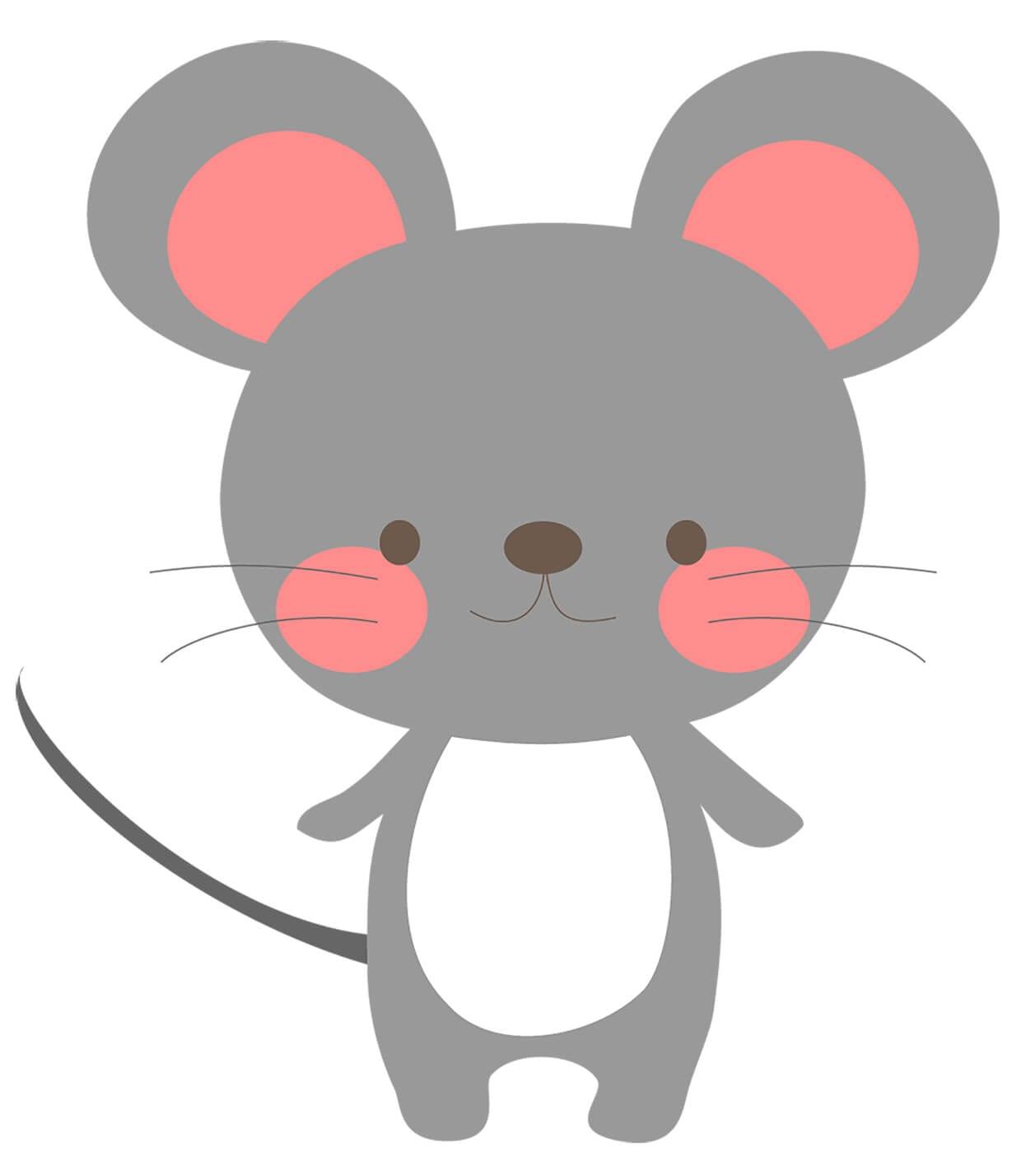 Мышка картинка для детей 1