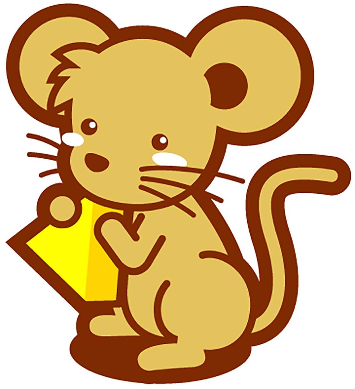 Мышка с сыром картинка 3