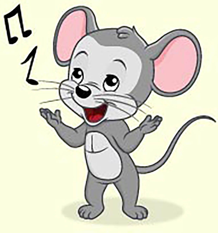 Поющая мышка картинка