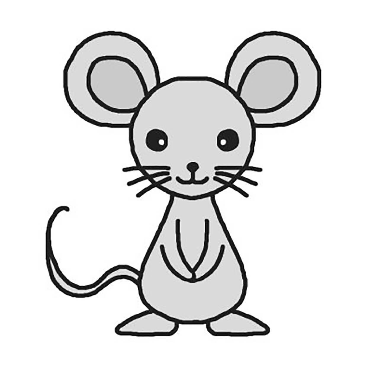 Mouse picture for children 9