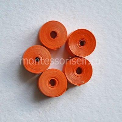 Пять оранжевых роллов