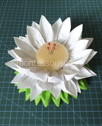 Игольница оригами