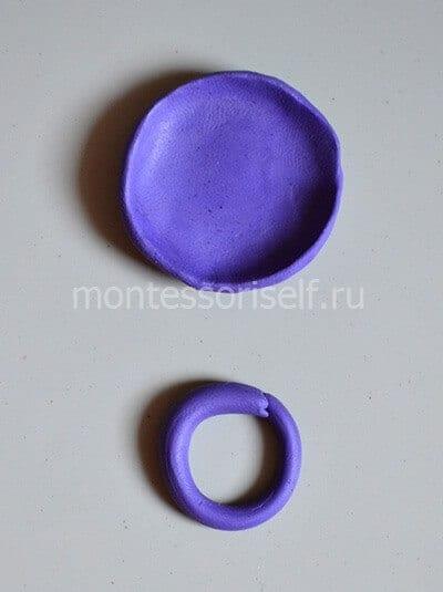 Кольцо и основа тарелки
