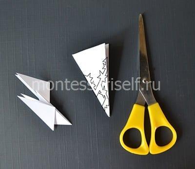 8n Объемная снежинка из бумаги своими руками: схемы, шаблоны, мастер классы, как делать такой декор