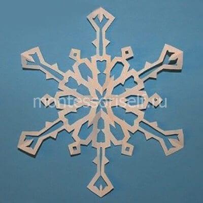 sn10-2 Объемная снежинка из бумаги своими руками: схемы, шаблоны, мастер классы, как делать такой декор