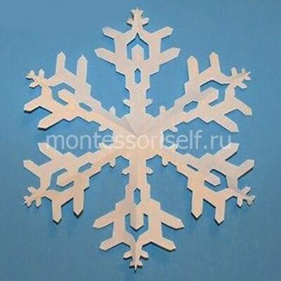 sn11-2 Объемная снежинка из бумаги своими руками: схемы, шаблоны, мастер классы, как делать такой декор