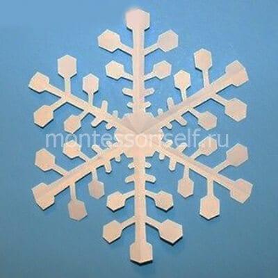 sn7-2 Объемная снежинка из бумаги своими руками: схемы, шаблоны, мастер классы, как делать такой декор