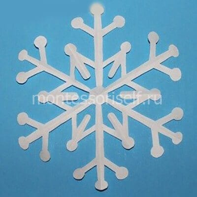 sn9-2 Объемная снежинка из бумаги своими руками: схемы, шаблоны, мастер классы, как делать такой декор